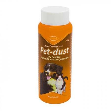 Pet-dust Dry Powder - Kedi&Köpek Kuru Şampuanı 100 gr
