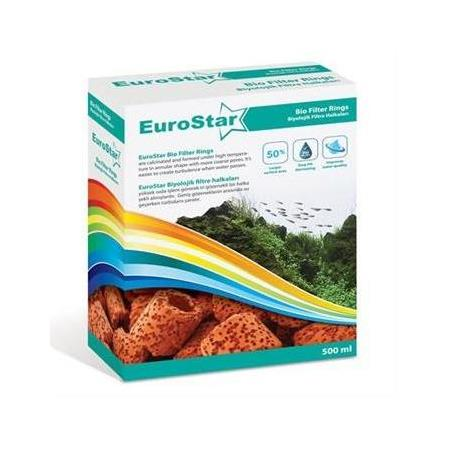 EuroStar Bio Filter Ring Kahverengi 500 ml